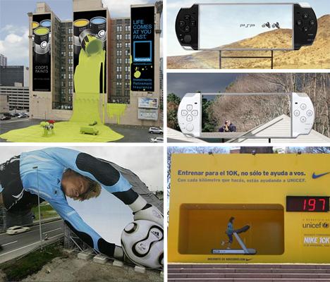 기발함과 창의성이 넘치는 빌보드 광고