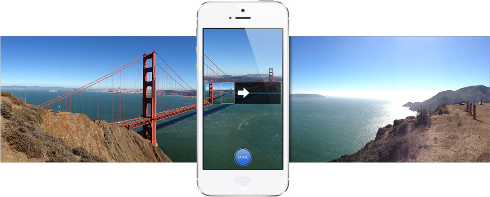 iOS6 사진 파노라마 panorama