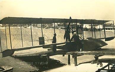 수상 복엽 비행기 Benoist XIV