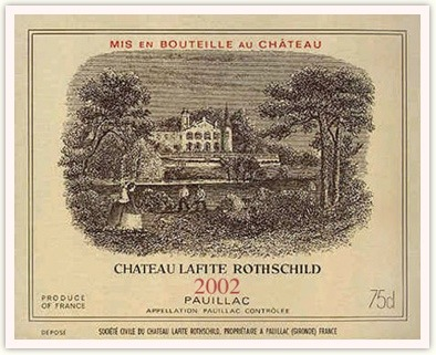 [F&B]Chateau Lafite Rothschild 2002