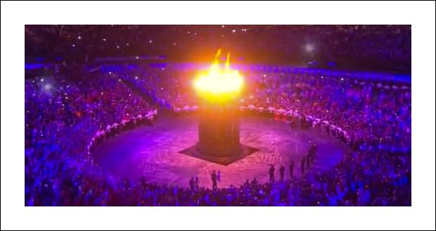 올림픽 개막식 성화