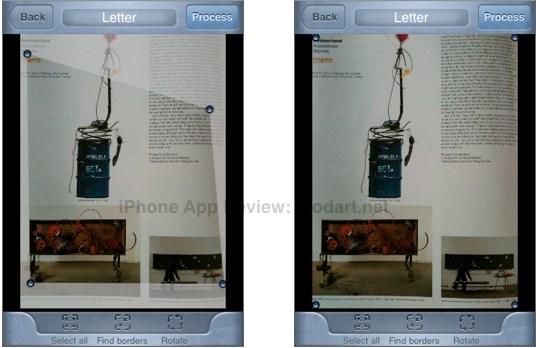아이폰 문서 명함 스캔 스캐너프로 Scanner Pro