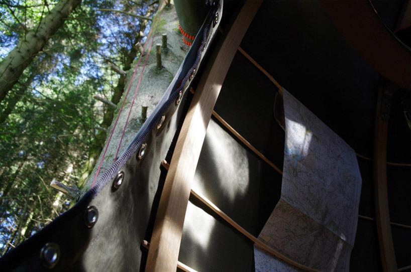나무 위 트리 텐트 Luminair Tree Tents 5osa 오사