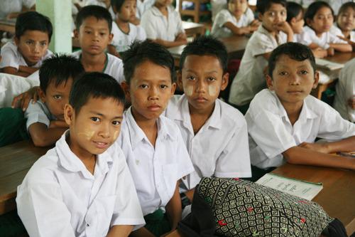 미얀마 뚠띠 초등학교