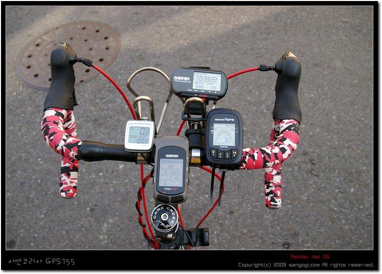 GPS 3개, 유선속도계 1개 설치