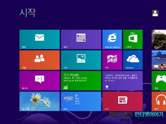 윈도우8 특징과 장점, 활용성 높은 윈도우8 기능들