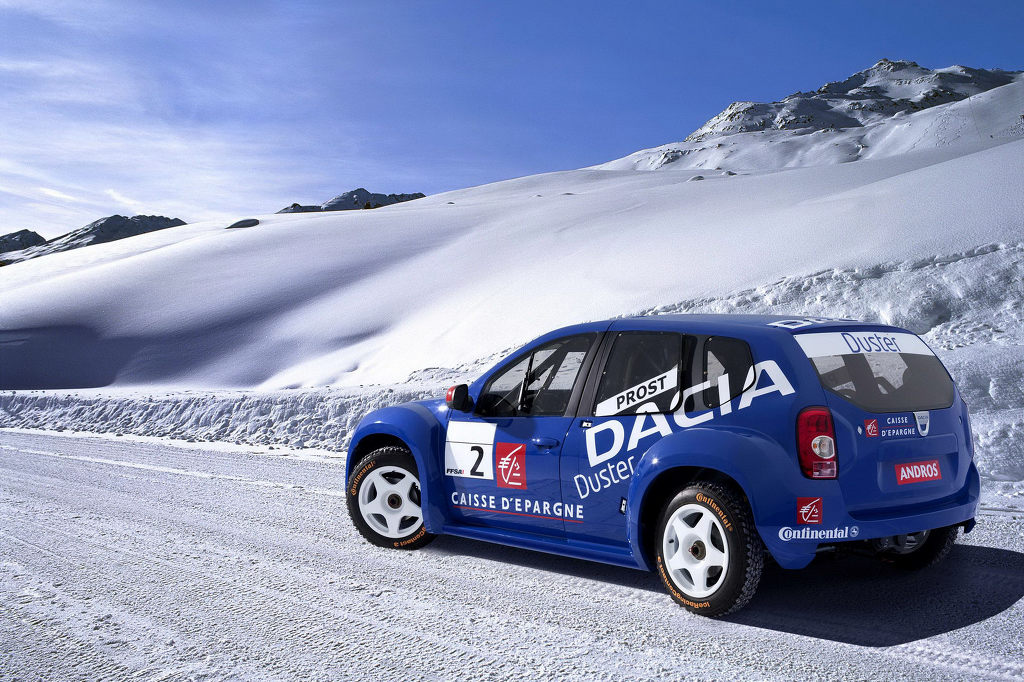 Dacia Duster Ice Racer