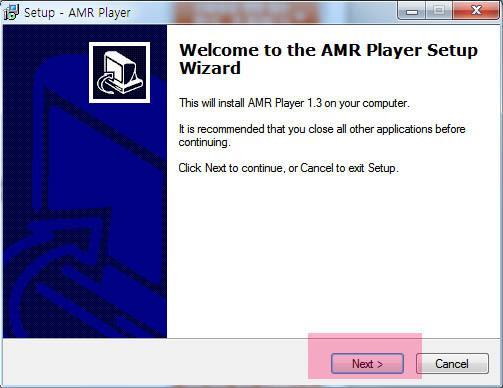 amr mp3 파일 변환 및 amr 플레이어 다운 및 사용방법