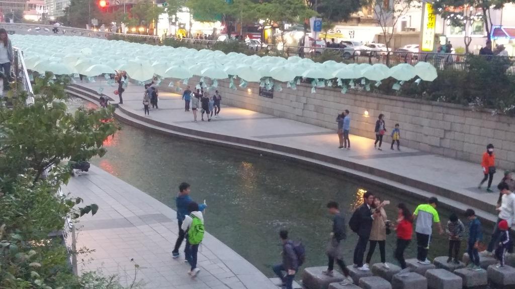 공연, 끄끄, 나들이, 믹서기, 발전기, 산책, 세월호, 요쿠르트, 우산, 자전거, 전기, 전시, 청계천, 파란우산
