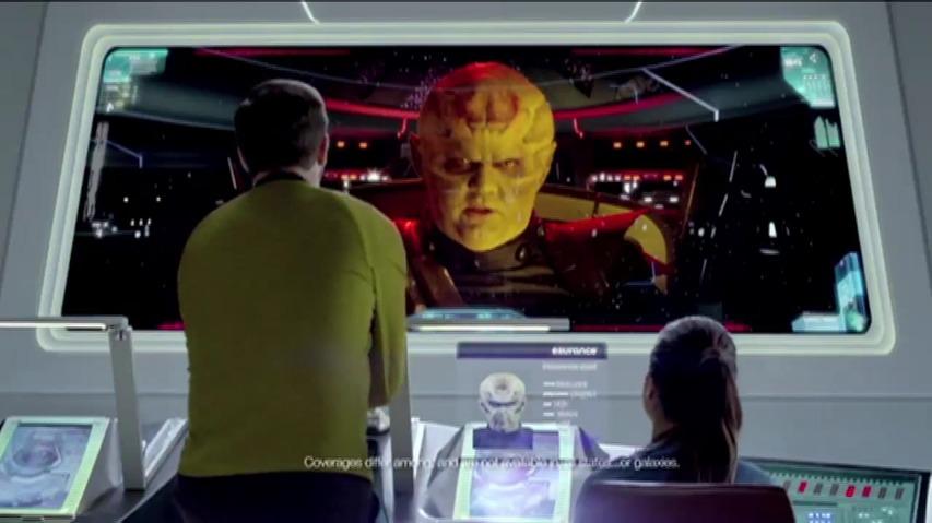 이슈어런스(Esurance)보험, 스타트렉 다크니스(Star Trek Into Darkness) 패러디 타이인(Tie-In) TV광고 - 우주 접촉사고(Space Fender Bender)편 [한글자막]