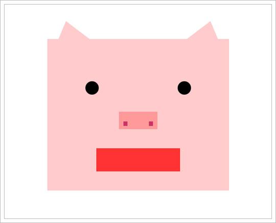 세모네모동그라미(2007.01.04)-돼지