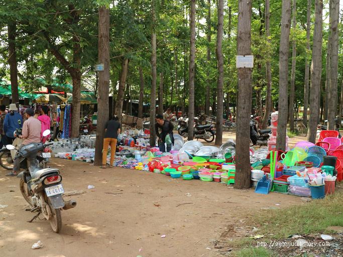 캄보디아 재래시장