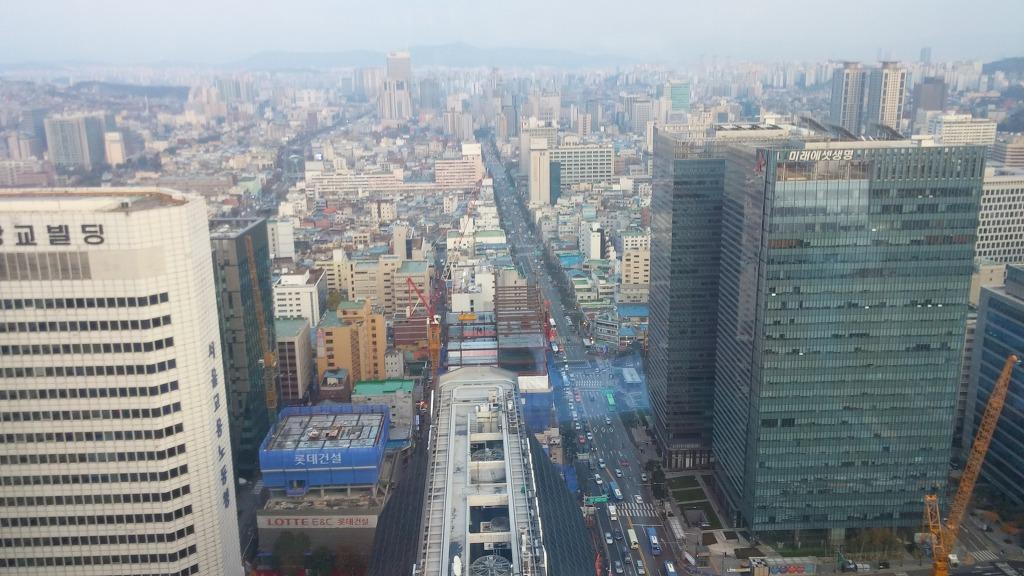 고층, 고층빌딩, 면접, 버스, 스카이뷰, 여유, 을지로, 을지로 입구, 자동차, 장난감, 전경, 회사