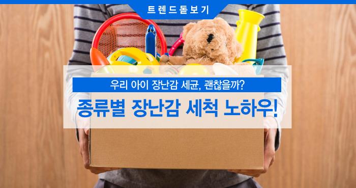 종류별 장난감 세척 노하우