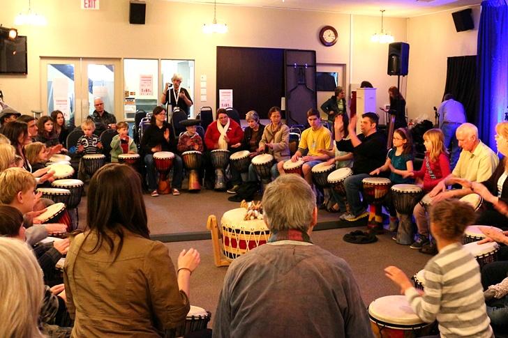 캐나다 오타와 축제 ; 드럼 연주