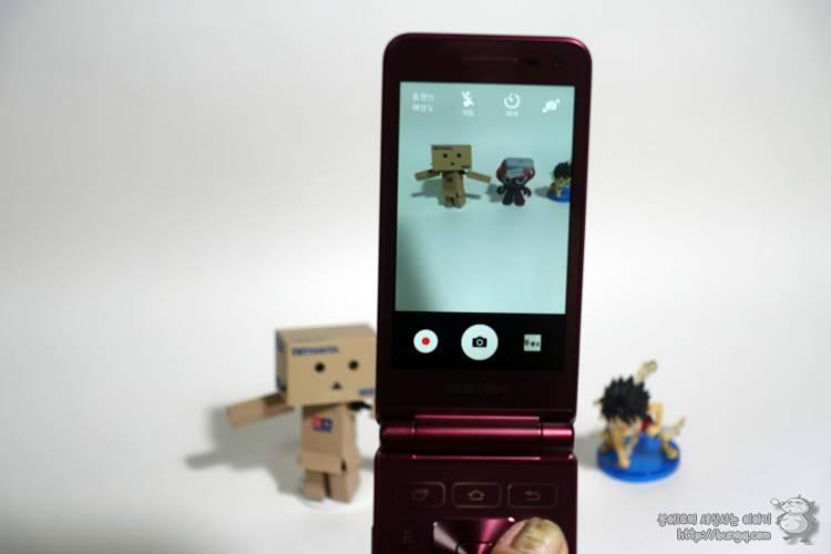 삼성, 갤럭시, 폴더폰, 2, 폴더폰2, 카메라