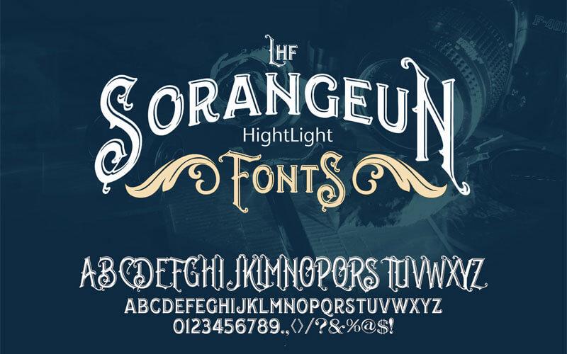 Lhf Sorangeun Highlight Font
