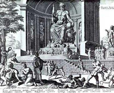올림피아 제우스신상