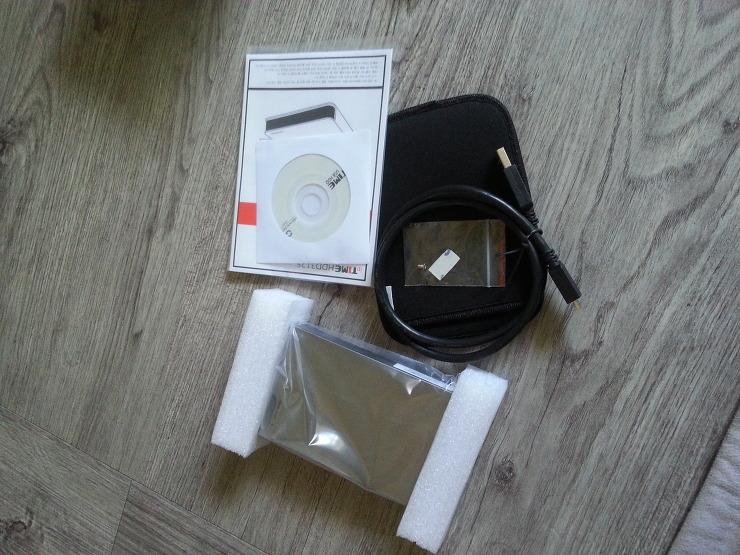 ipTIME HDD 3125 구성품