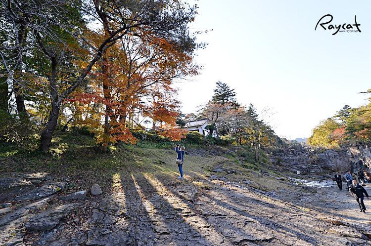 겐비케이 계곡의 풍경