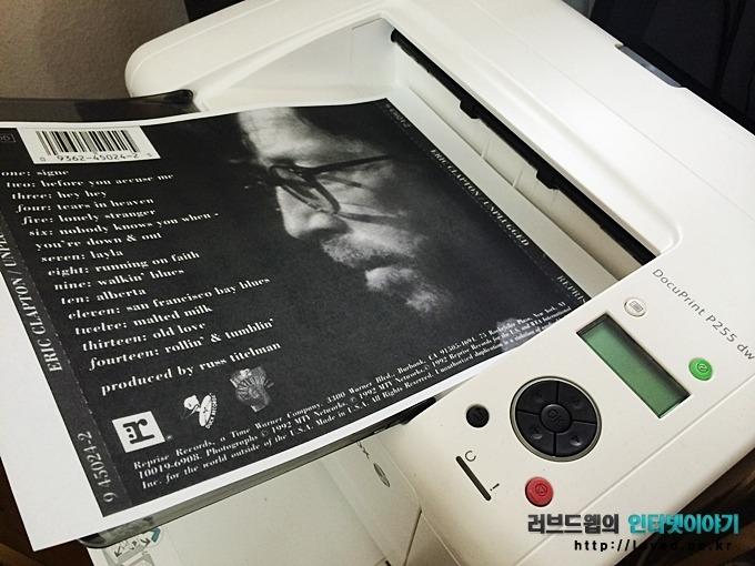 후지제록스 프린터스, P255 dw, 무선 출력, 무선 프린터, 갤럭시S5 무선 인쇄