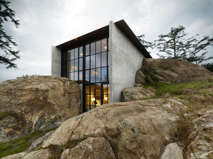 *바위 그리고 하우스 [ Olson Kundig Architects ] The Pierre