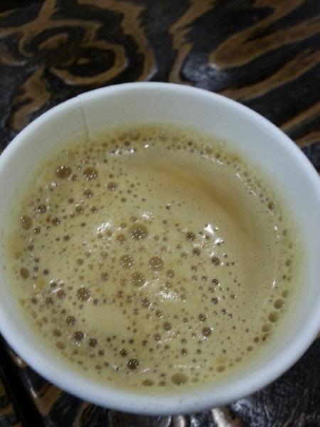 중림시장 커피 소나타 홍차라떼