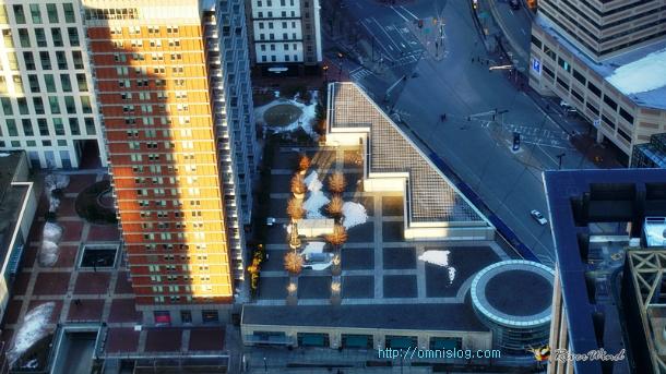 Prudential Center Skywalk in BOSTON 프루덴셜 센터의 스카이워크, 보스턴 전경