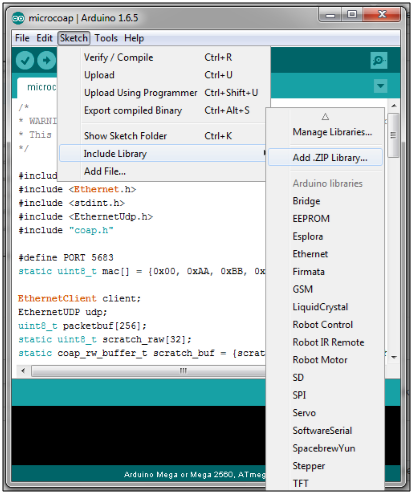 Arduino ethernet udp library download