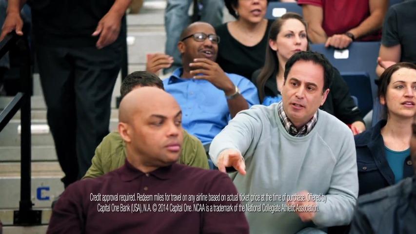 NBA스타 찰스 바클리(Charles Barkley)의 굴욕, 캐피탈 원(Capital One) 벤쳐카드(Venture Card) TV광고 - '관중석 농담(Bleacher Banter)'시리즈 [한글자막]