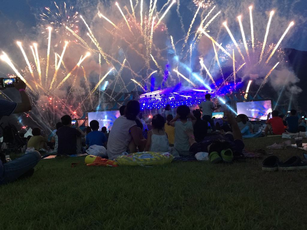 자라섬 불꽃축제 그리고 자라섬 오토캠핑장