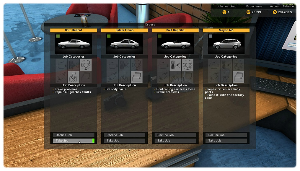 Car Mechanic Simulator  Config
