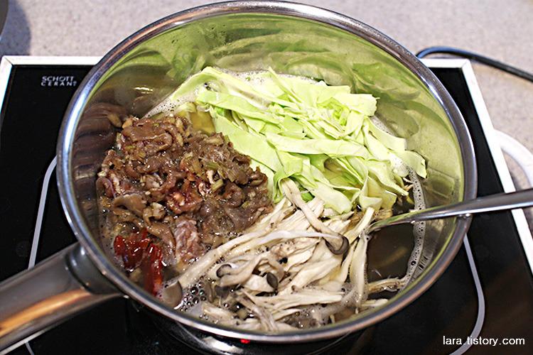 초간단불고기만드는법_불고기전골