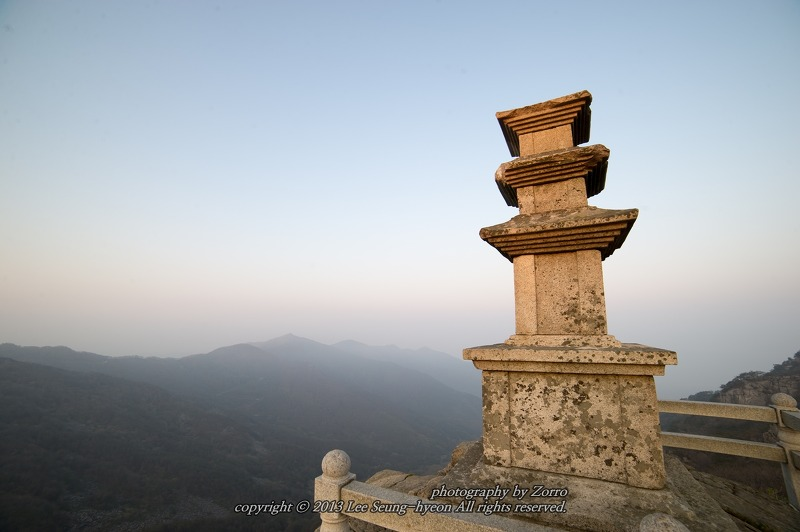 대견사지 삼층석탑