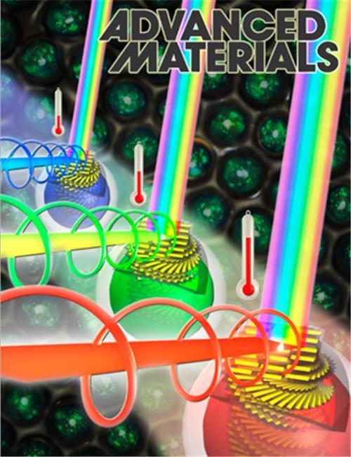 2015년 1월 Advanced Materials 표지 (Inside back cover)