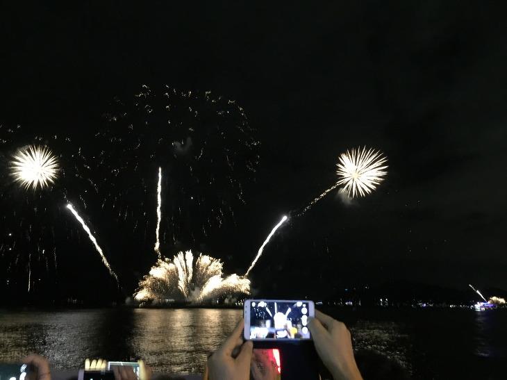 부산 불꽃축제 2016