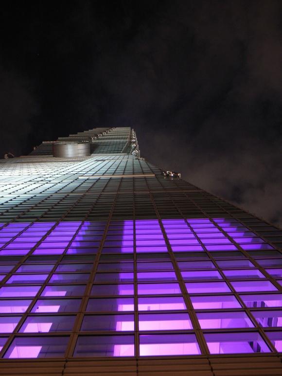 5. 타이베이101 빌딩 외관
