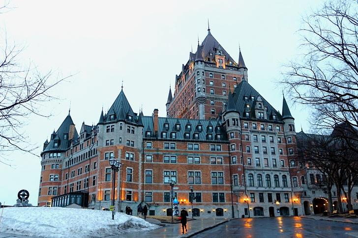 캐나다 동부여행 퀘벡시티 샤토 프롱트낙 호텔