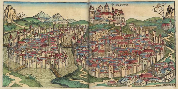 폴란드의 구(舊)수도  크라코프