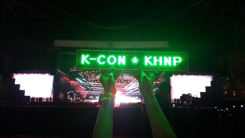 아랍에미리트의 한수원, KCON 2016 아부 다비 원정대