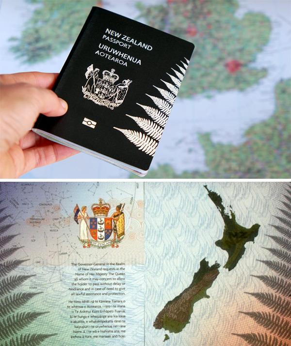 「뉴질랜드 여권」の画像検索結果