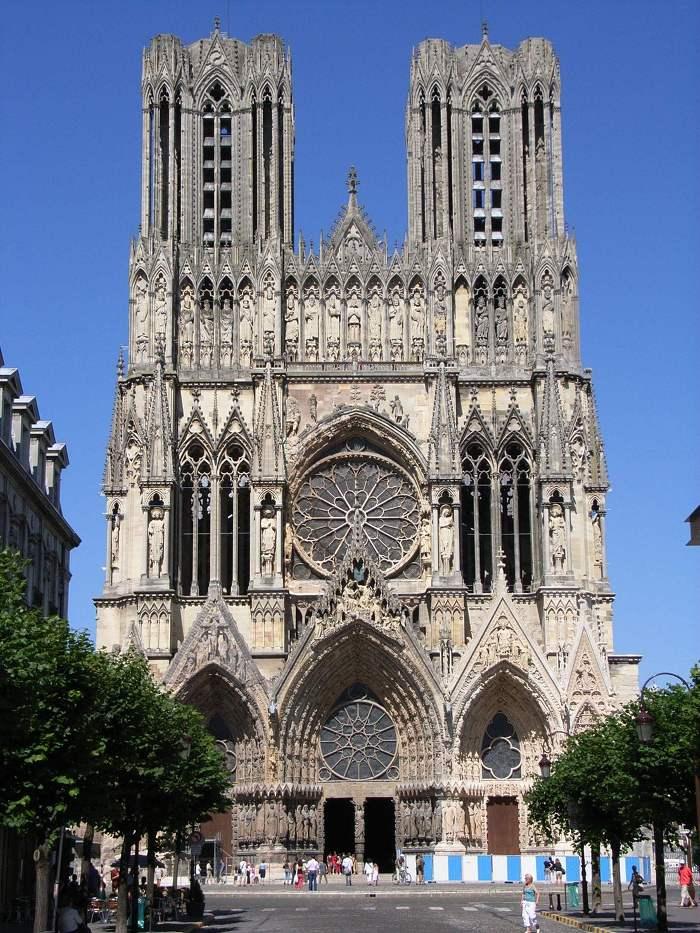 랭스 대성당 Reims Cathedral 외부