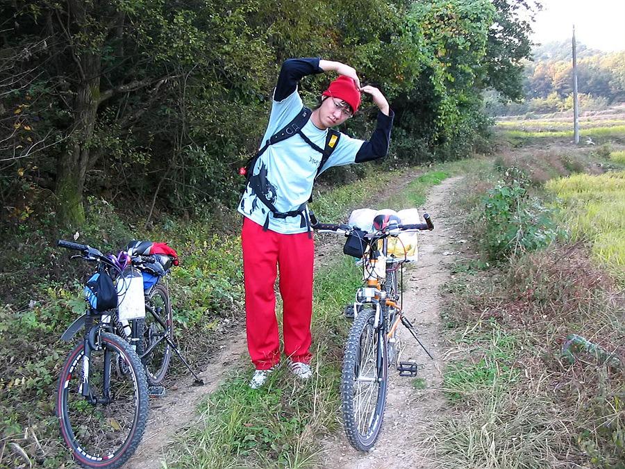 자전거로 달리자 - 3일차 ② ▷ 충청도 : 24548D4D513BA4EB2B1538