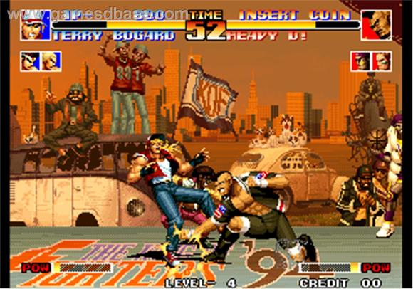 The King of Fighters 94 game