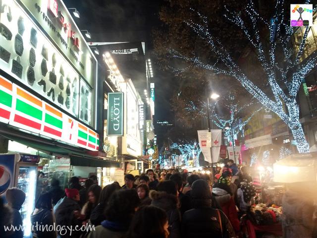 Myeong dong 明洞(ミョンドン)