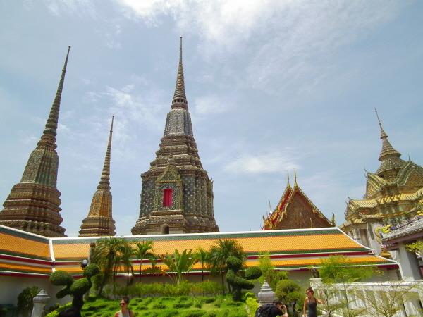 wat pho in Thailand
