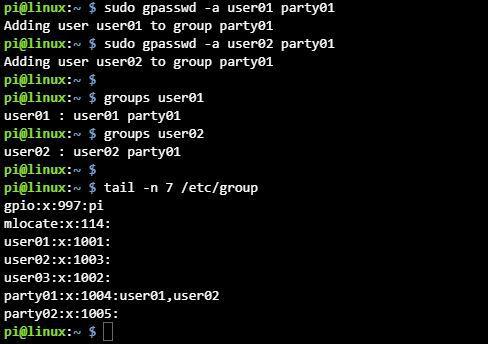리눅스 그룹 관리 gpasswd 명령어