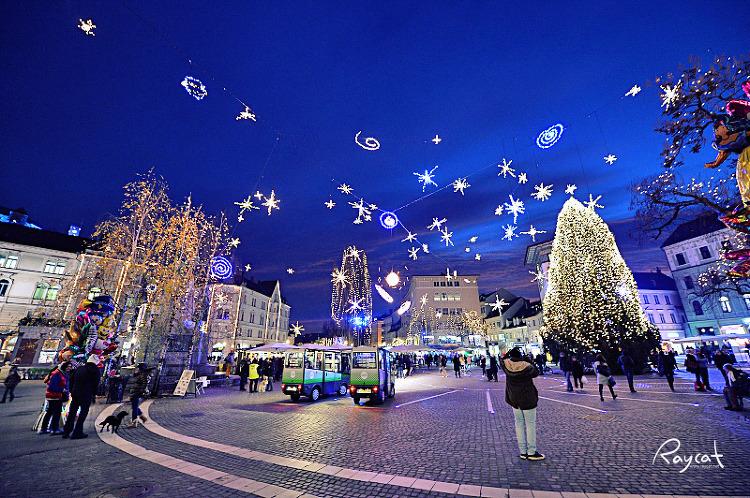 슬로베니아 류블라냐 크리스마스 마켓