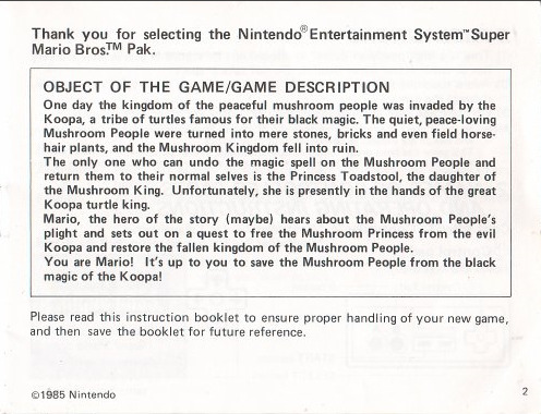 Super Mario Story 슈퍼마리오 진짜 스토리