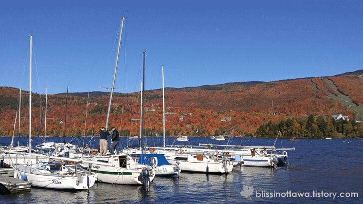 Tremblant 호수